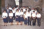 Casperia piazza San Giovanni Battista 1987